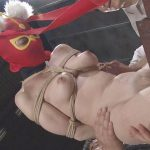 72-2-640x360 正義の為に戦う真っ裸女戦士が緊縛法師の術にかかり電動コケシで恥部責めに晒される!!@sharevideos